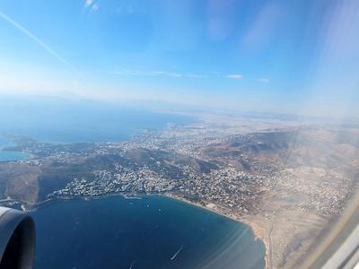 スペイン中東428エーゲ航空アテネ上空
