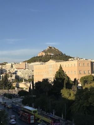 スペイン中東438アテネアマリアホテル眺望