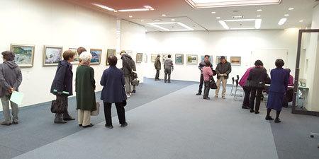 名所旧跡絵画展1