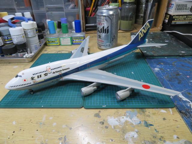 ANA B747 JA8084
