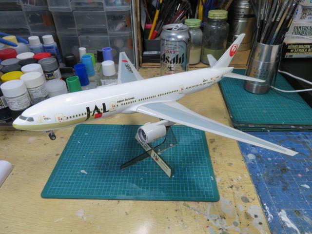 JAL B777-200 JA8981 完成・・・