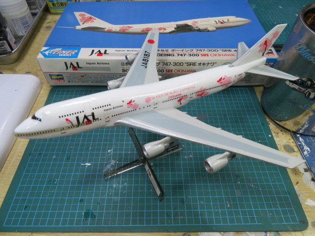 JAL B747-300 SRE オキナワ 1/400