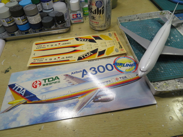 TDA A300 開始・・・