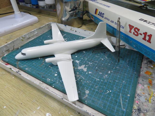JAS YS-11 1/144 開始・・・