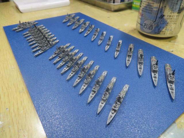 フジミ 1/3000 護衛艦隊 1998 完成・・・の2