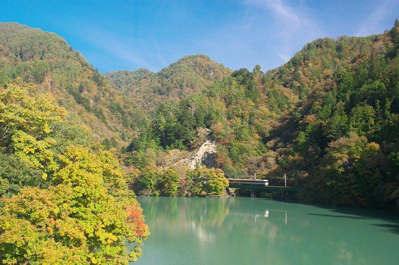 秋の飯田線