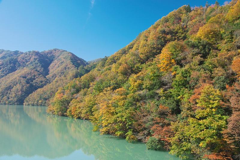 秋深まる飯田線