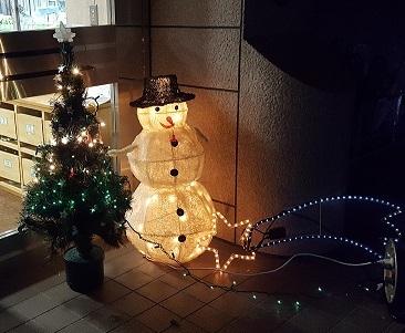 クリスマス準備①