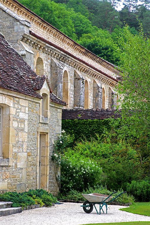 フォントネー修道院のネコ