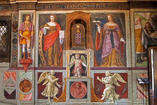 サンマウリツィオ教会 天使たち