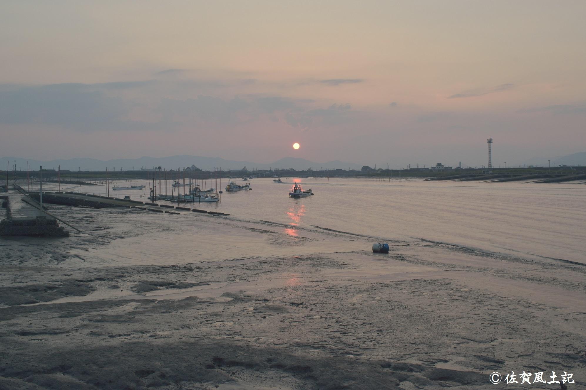 六角川情景
