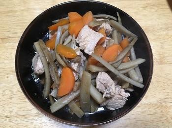 鳥ごぼう煮