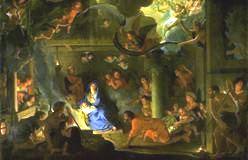 シャルル・ル・ブラン 羊飼いの礼拝 Adoration des bergers(1689年)