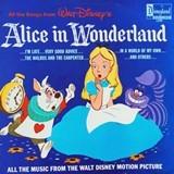 アリス Motion Picture Alice in Wonderland Sound Track LP (1968) Disneyland Record 1208