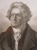 ベートーヴェンの顔 ヨハン・シュテファン・デッカー Johann Stefen Decker による素描
