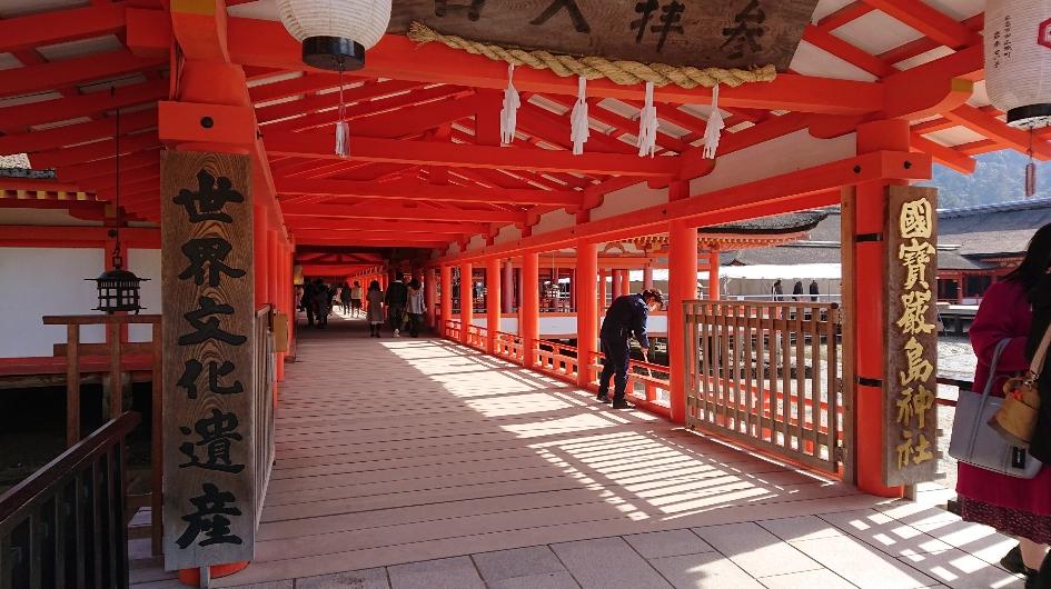 厳島神社社殿