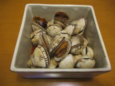 200420赤貝の煮付け
