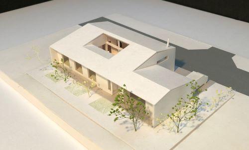 湯向の家 計画模型