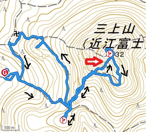 20191129三上山 姥の懐ルート