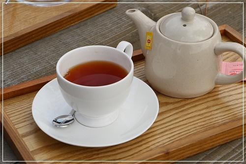 外席?でお茶を・・・