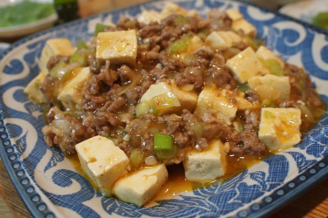 マーボーひき肉豆腐!