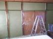 壁の仕上げ塗り②