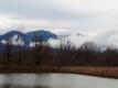 朝の浅間山