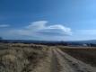 お昼の吊り雲