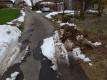 除雪車の落とし物