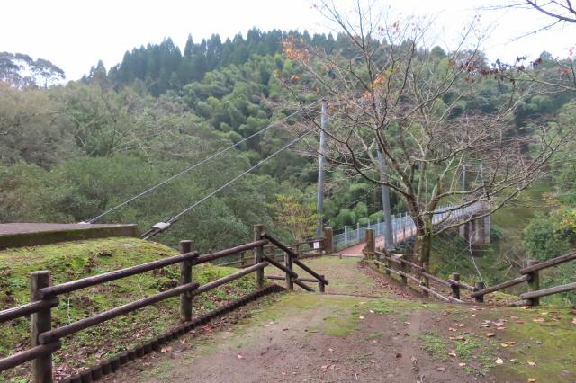 県民の森公園の吊橋3