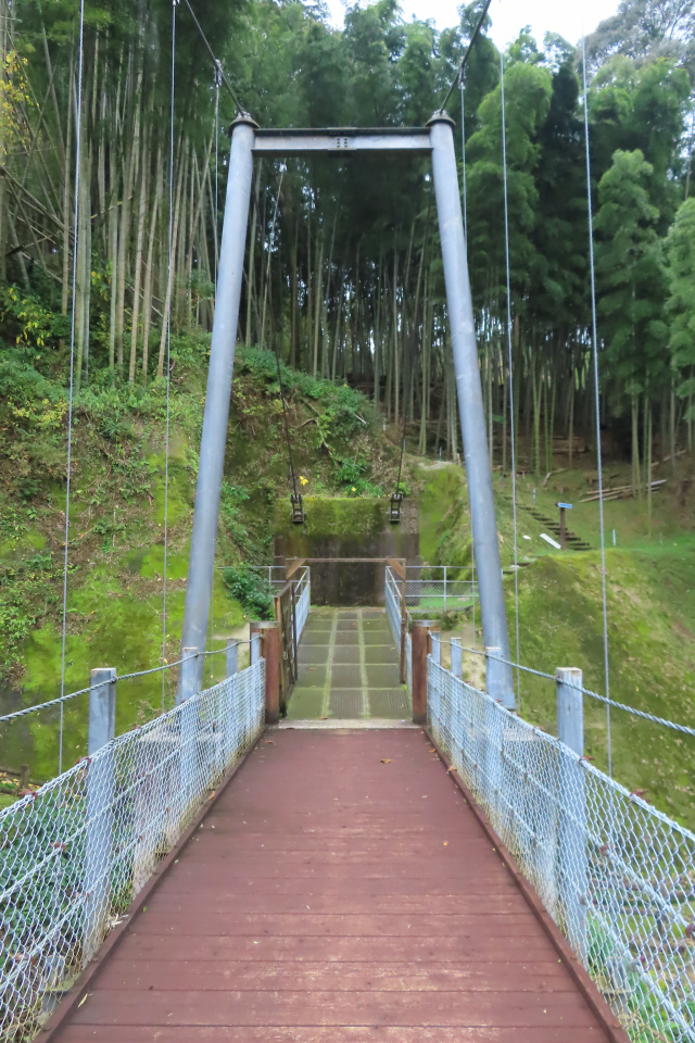 県民の森公園の吊橋5