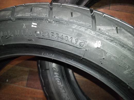 バイクのタイヤ (7)