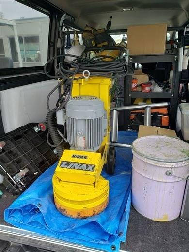 床の研磨機を買う (4)