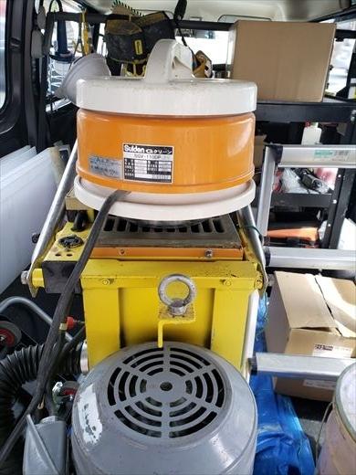 床の研磨機を買う (7)