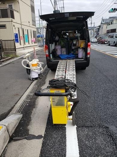 床の研磨機を買う (16)