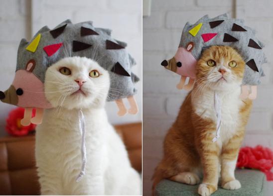 56nyan新作モデルネズミと猫草