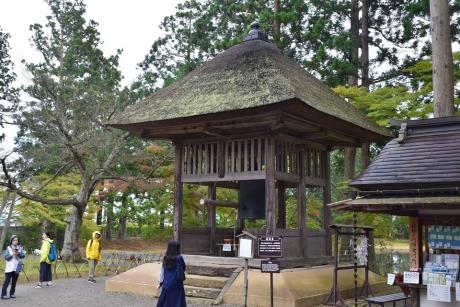 毛越寺鐘楼