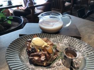 201911 Thecafe アップルパイ