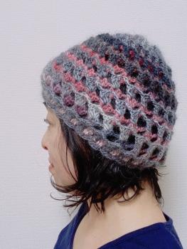 3Dリバ帽