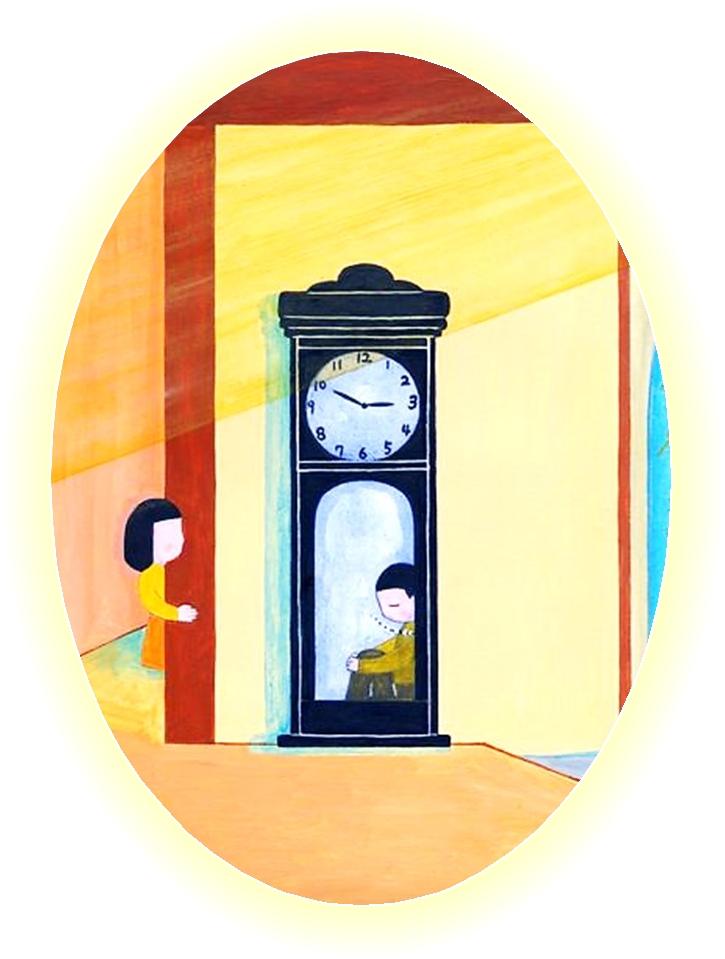 秋野あかね 古時計