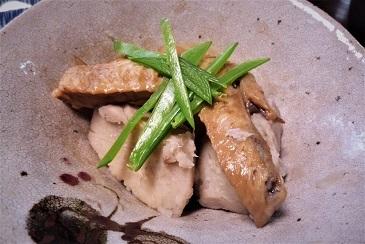 鶏手羽と里芋煮合わせ
