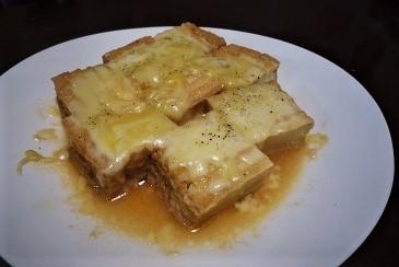 厚揚げチーズ胡椒