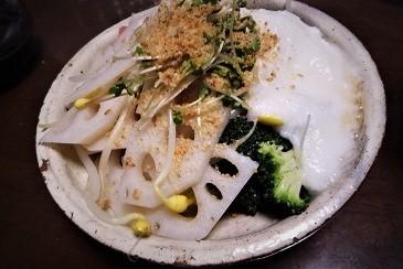 蓮根山芋サラダ