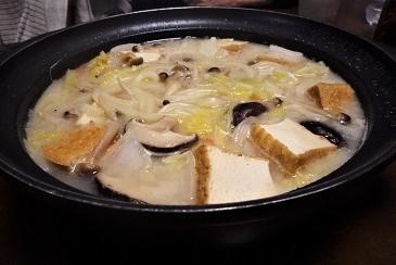 胡麻豆乳鍋