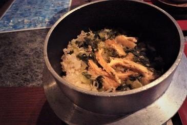 高菜油揚げご飯