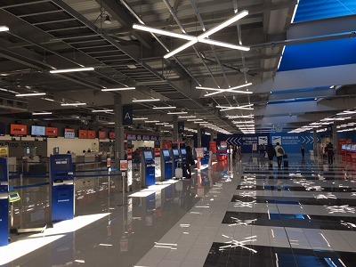 ターミナル2の様子