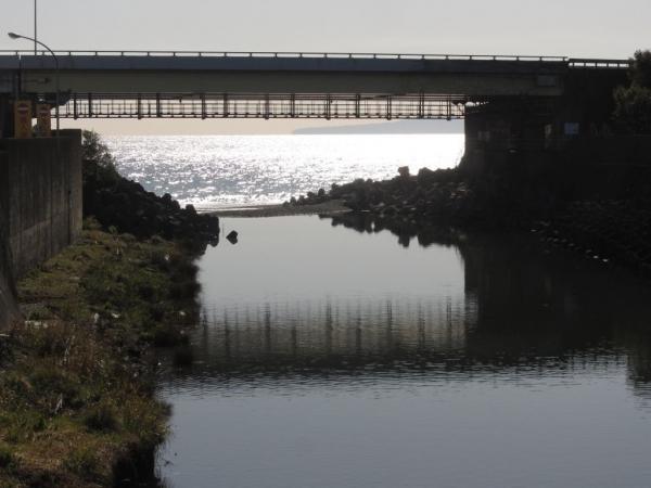 山王川河口