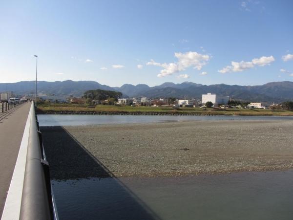 酒匂川の渡し跡