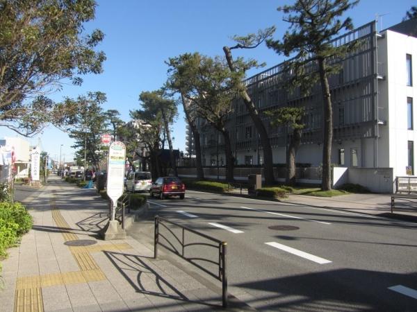 酒匂小学校バス停
