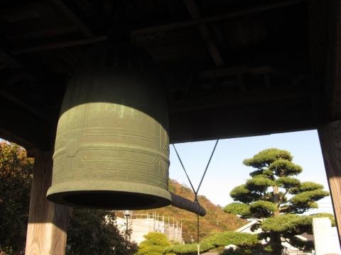 等覚院の梵鐘